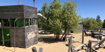 Spielplatz im Baakenpark